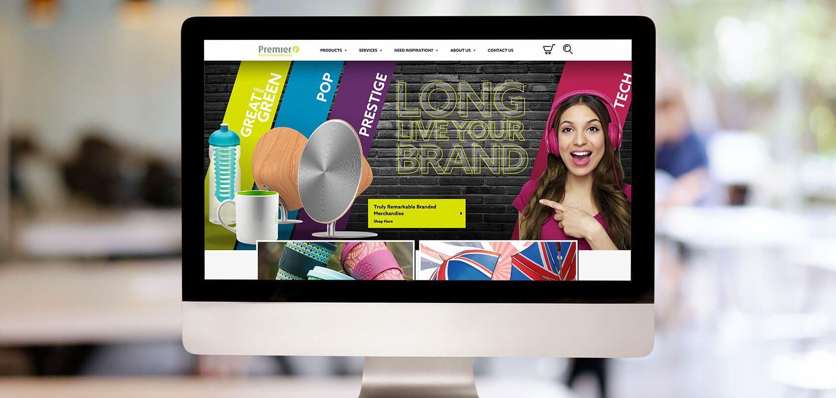 Premier print website