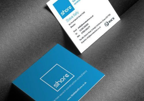 Shore business cards