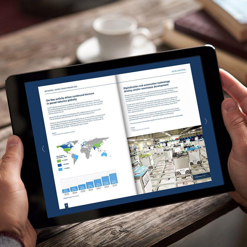 DP World interactive PDF