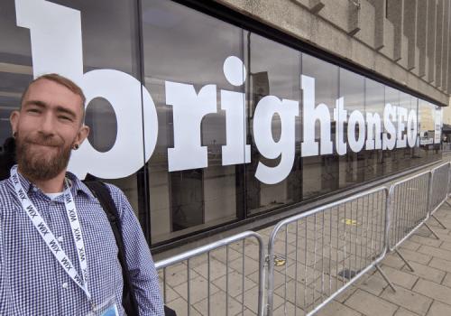 Mike Hall at Brighton SEO